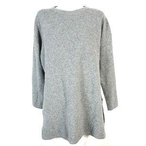 Oak + Fort wool blend dress